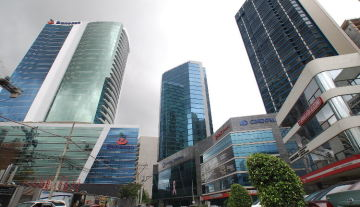 Panama financial district. Source: capital.com.pa