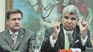 Mulino and Alejandro Garuz, both curreently behind bars