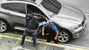 Cops move in on Vista Hermosa