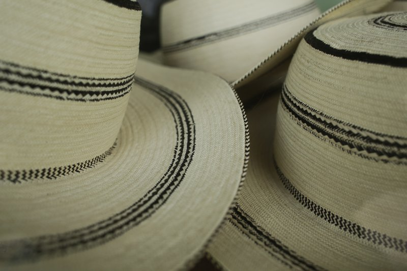 cd252b22fd08c7 17, 2017 photo, traditional Panamanian pintao hats are display for sale in  a shop in La Pintada, Panama. In La Pintada, authorities estimate that  4,000 of ...